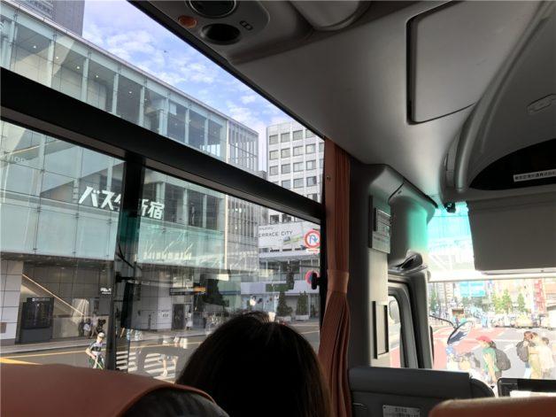 バスタ新宿 羽田 リムジンバス ルート