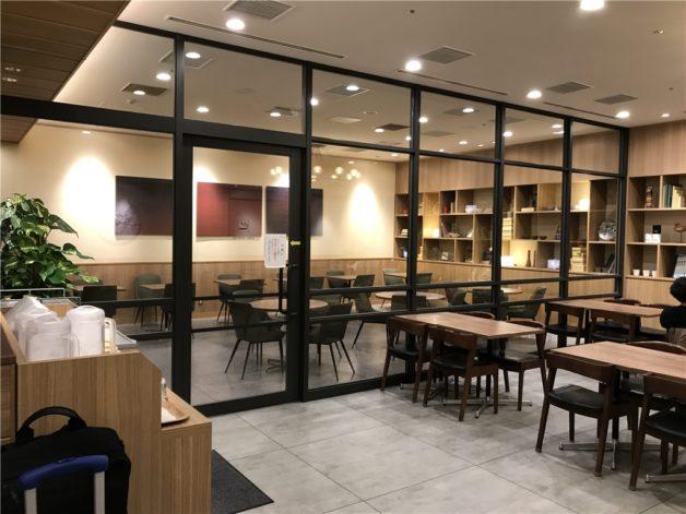 羽田空港 国際線ターミナル はねだ食堂 喫煙スペース おすすめ