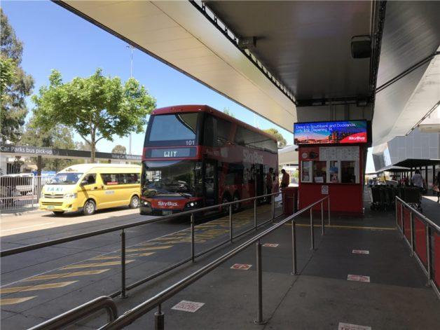 メルボルン 空港からシティ スカイバス SKYBUS SFC 修行 ANA スターアライアンス オーストラリア メルボルン